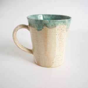 "Unique mugs ""Kiss of sand"""