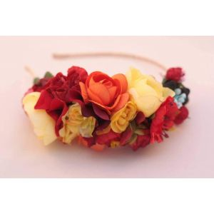 Unusual hair accessories. Hair band «Summer night»