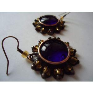 "Vintage earrings ""Arabian night"""