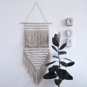 Wall hanging with shells