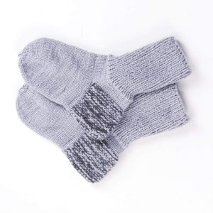 "Warm socks for winter ""Gray shades"""