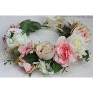 "Wedding floral crown ""Summer silence"""