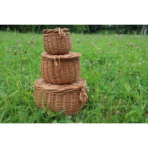 """Wicker storage baskets """"Comfort"""""""