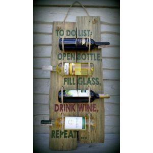 """Wine holder """"Open bottle"""""""