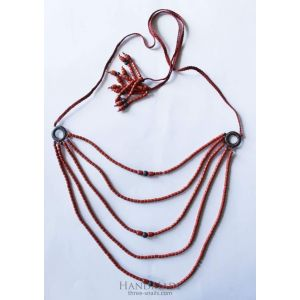 """Womens necklace """"Red passion"""""""