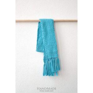 "Womens transformer scarf ""Self-coloured"""