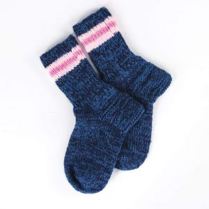 "Womens winter socks ""Cold day"""