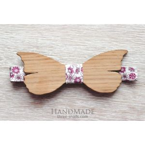 "Wood bow tie ""Butterfly"""
