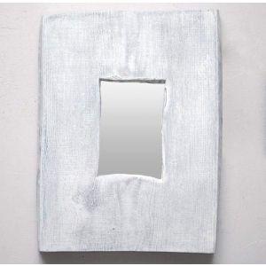 "Wood mirror rectangle ""Mirror-world"""
