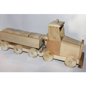 """Wood toy """"Tractor"""""""