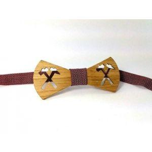 "Woodenbow-tie ""Hammer"""