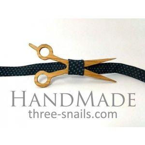 "Woodenbow-tie ""Scissors"""