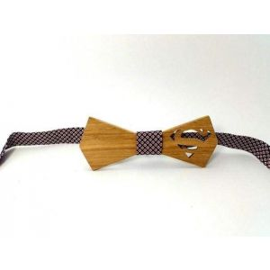 "Wooden bow-tie ""Superman"""
