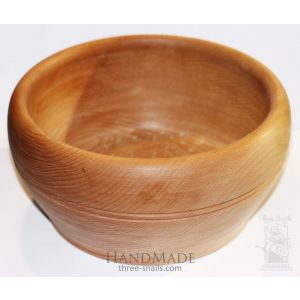 "Wooden bowl ""It is noon"""