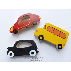 "Wooden car set""Vehicles"""