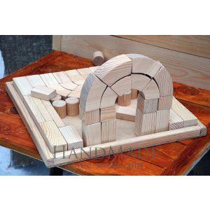 """Wooden construction set """"Medieval castle"""""""