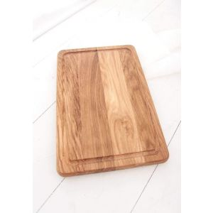 "Wooden cutting board ash ""Housewife"""