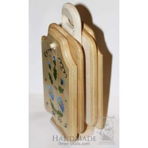 """Wooden cutting boards """"Spring mood"""""""