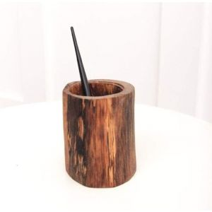 Wooden pen holder oak