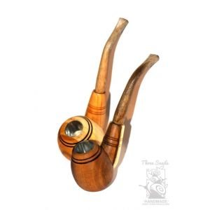 "Wooden smoking pipe ""Chieftain"""