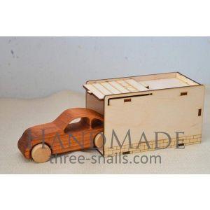 """Wooden toy car """"Folzcar"""""""