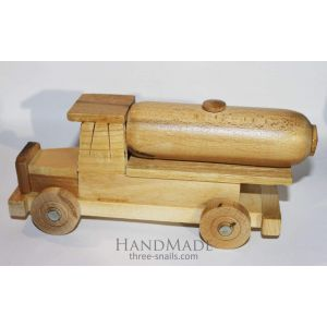 """Wooden toy car """"Truck"""""""