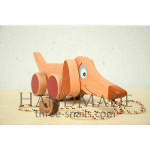 """Wooden toy """"Dachshund"""""""
