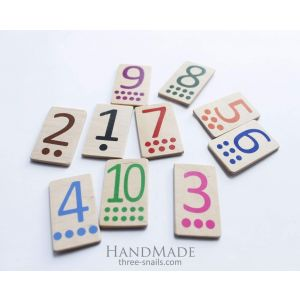 """Wooden toys """"Digits"""""""