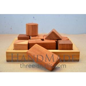 """Wooden toys set """"Fun and smart"""""""