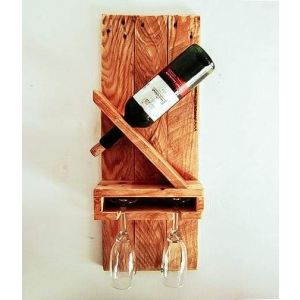 "Wooden wine stand ""Gourmet"""