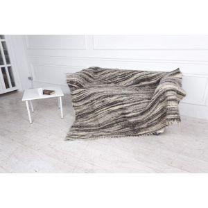 "Wool handcrafted blanket ""Wild Nature"""