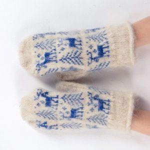 "Wool mitten gloves ""Buck"""