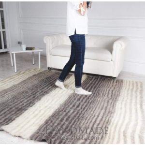 """Wool rug """"Go go"""""""