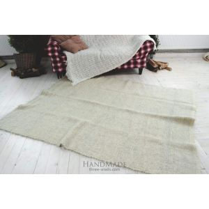 "Wool rug ""Milky way"""