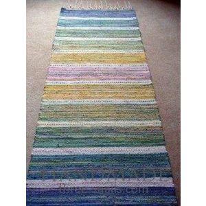 Woven runner rug