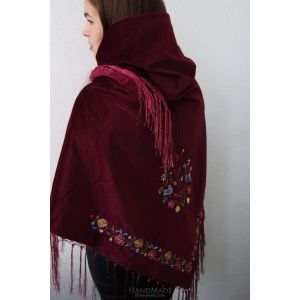 "Wraps and shawls ""Velvet luxury"""