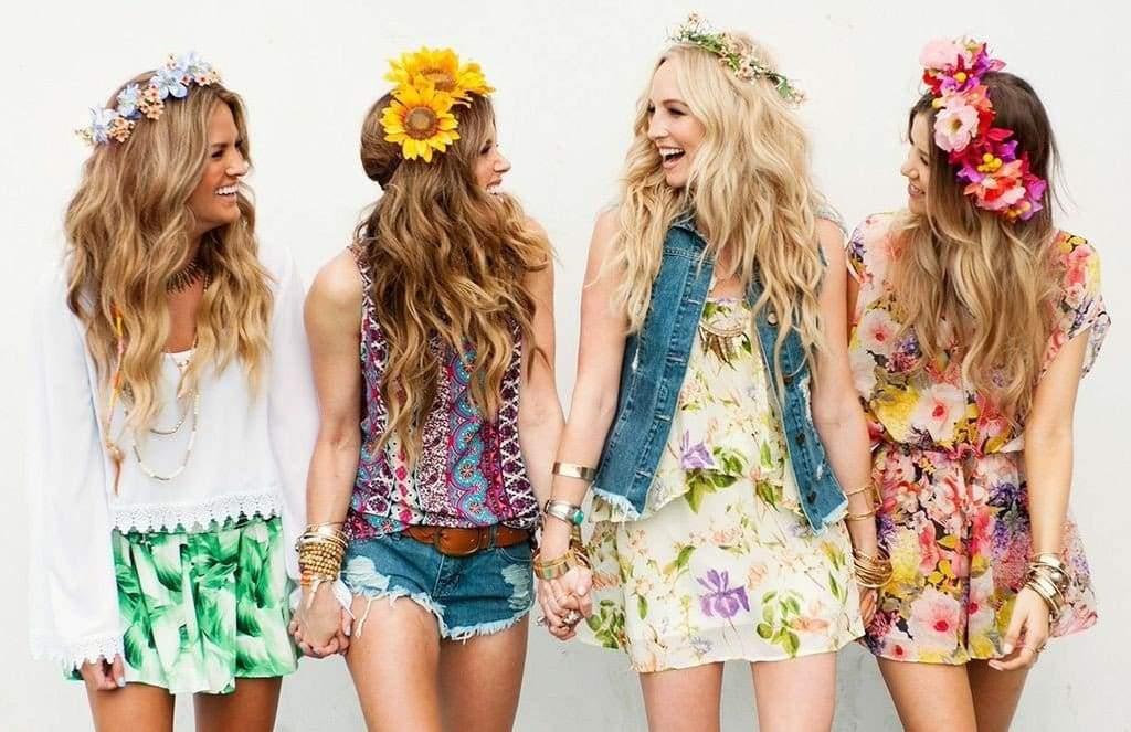 Forever floral headbands