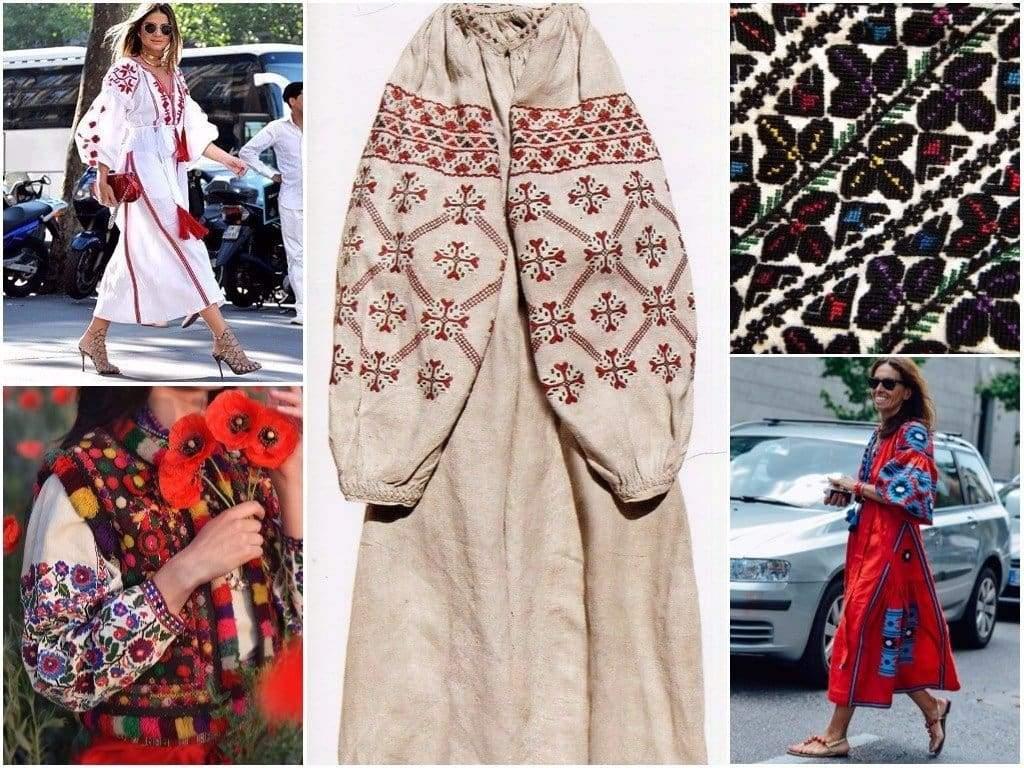 Традиционное украинское платье – всегда современный модный тренд