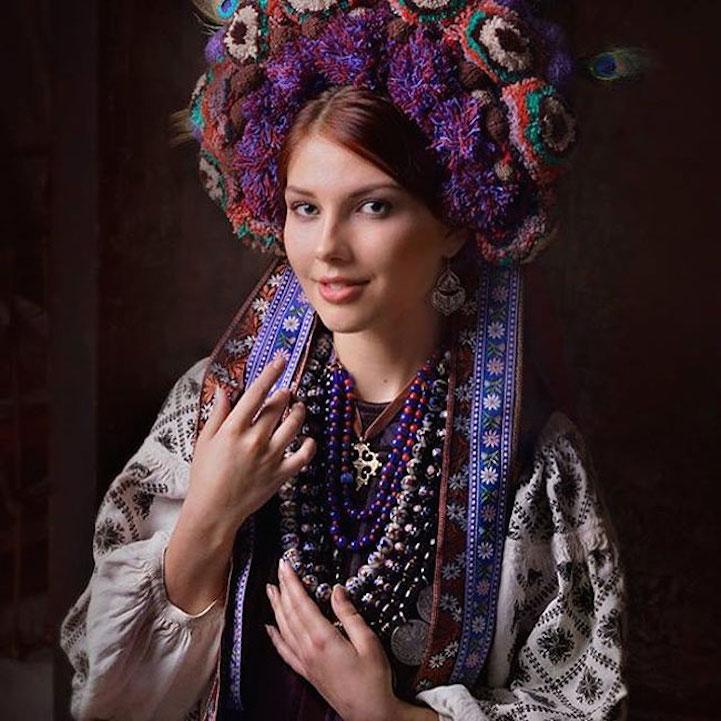 Ukrainian beauty or what did Ukrainian women wear 100 years ago?
