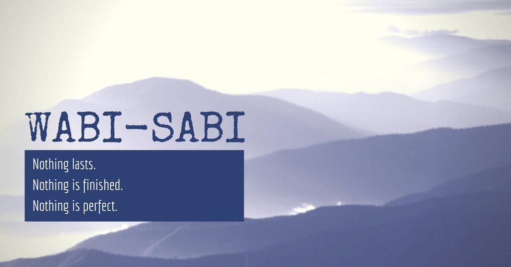 Ваби-саби – совершенно-несовершенный японский тренд