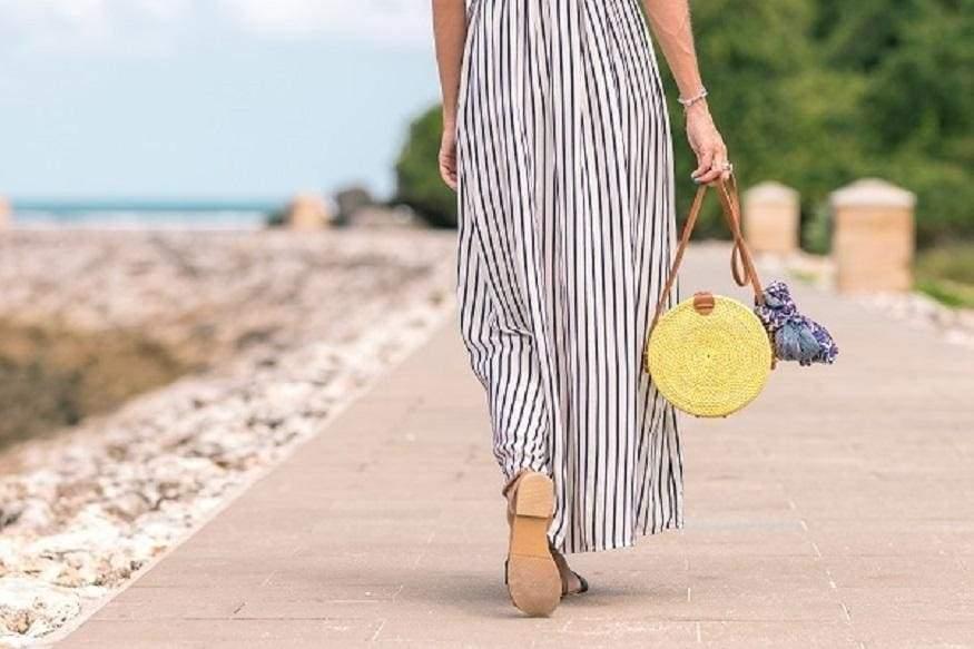 Плетеная сумка из ротанга - возьми лето с собой