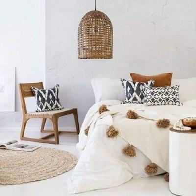 Decorating trendy tricks: how to create cozy and warm interior with eco-friendly details