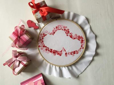 St Valentine's DIY souvenir – a gift from the bottom of one's heart