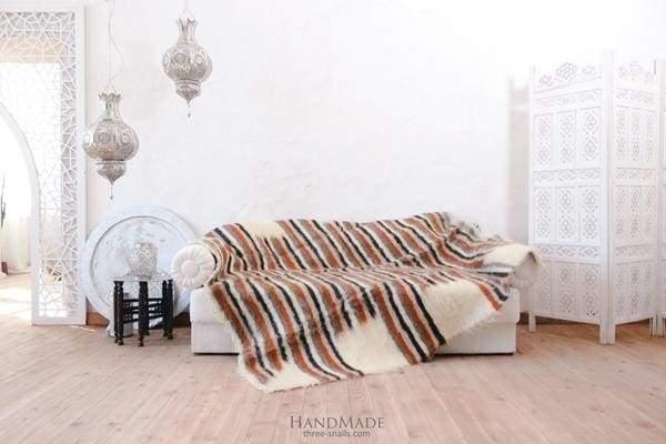 striped wool plaid