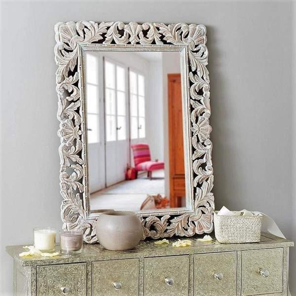 exclusive wooden mirror