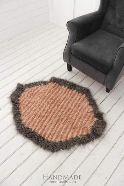 геометрический коврик