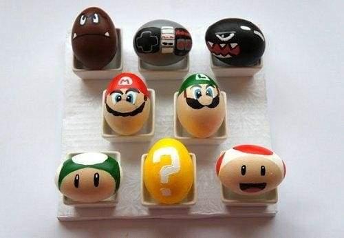 Маріо на Великдень