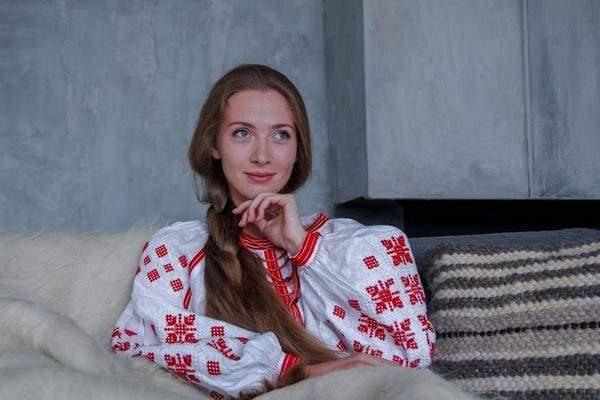 вишиванка з українськими візерунками