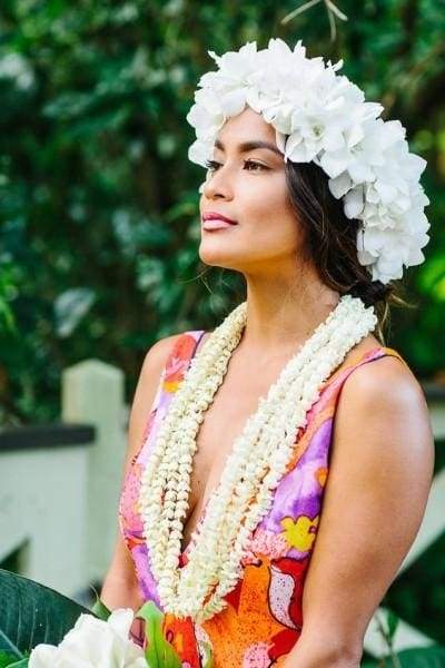 Hawaii flower wreath