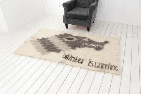 Handweaved wool blanket